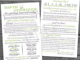 Unique Wedding Programs Wedding Program Templates U0026 Diy Ideas Top Wedding Websites
