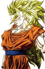 goku super saiyan 3 angry badass colored dyronl deviantart
