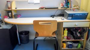 Student Desk In French by Housing Services Rouen Normandy University