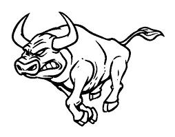 furious bull coloring coloringcrew