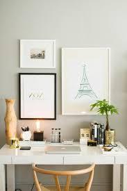 d orer bureau au travail comment décorer un bureau laqué blanc 61 photos inspirantes