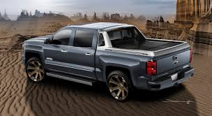 Chevy Silverado 1500 Truck Bed Covers - introducing the chevy silverado 1500 high desert sema show car