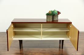 Credenza Tv Console Rosewood Midcentury Danish Modern Vintage Credenza Tv Console