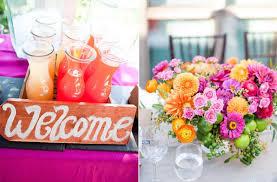 summer wedding centerpieces pink lemonade wedding color palette summer wedding flower