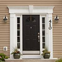 Exterior Door Pediment And Pilasters Exterior Interior Decorative Architectural Entry Window Systems
