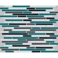 johnson wall tile 238x328mm lava glass mosaic bunnings warehouse