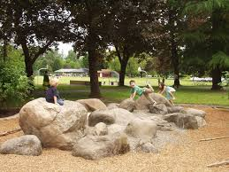 Natural Playground Ideas Backyard Great Boulder Garden Playgrounds Pinterest Playground