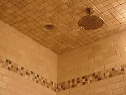 Installing Ceiling Tiles by How To Install Tile In A Bathroom Shower How Tos Diy