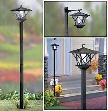 outdoor lamp post ebay