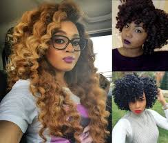 best hair for crochet braids crochet braids hairstyles for lovely curly look hairdrome com