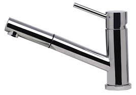alfi brand ab2025 solid stainless steel pull out swivel kitchen faucet
