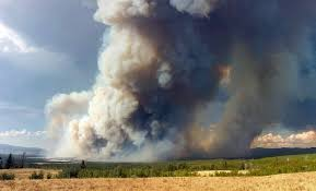 Alaska Wildfire Road Closures by Five Wildfires Burning In Yellowstone And Grand Teton National