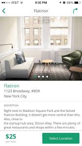 Small Office Space For Rent Nyc - breather u0027 app lets you rent private office space for 25 an hour