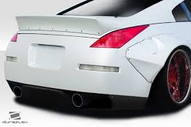 nissan 350z new price 03 08 fits nissan 350z rbs duraflex rear bumper lip body kit