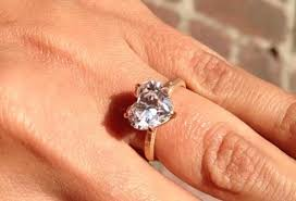 heart shaped rings images Celebrity heart shaped engagement rings ritani jpg
