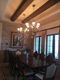 Tuscan Dining Rooms Dining Room Pictures Add Elegant Appeal With Ceiling Beams