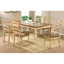 shaker espresso 6 piece dining table set with bench dining room shaker dining room beige table canada shaker dining