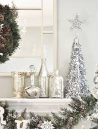 Home Depot Holiday Decor 164 Best Silver Christmas Images On Pinterest Silver Christmas