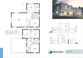 plan de maison a etage 5 chambres maison avec terrasse a letage top design plan maison a etage