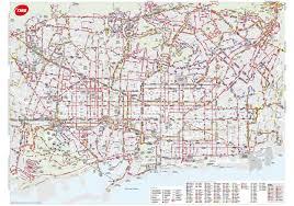 Muni Route Map by Barcelona Bus Map Transports Metropolitans De Barcelona