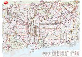 Girona Spain Map by Barcelona Bus Map Transports Metropolitans De Barcelona