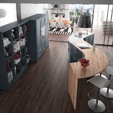 cuisine originale en bois plan de travail cuisine ronde originale en bois modèle