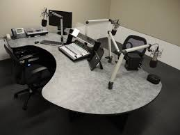 Office Furniture Solution by Family Radio Hires Omnirax To Offices And Studiosomnirax