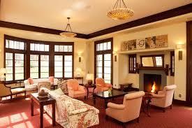 bringing life to a living room dark wood trim living room