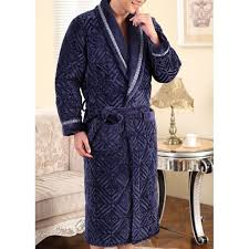 robe de chambre homme matelassée bleu marine achat vente robe