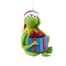the muppets kermit ornament seasonal