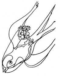 baby thumbelina colouring pages thumbelina swallow