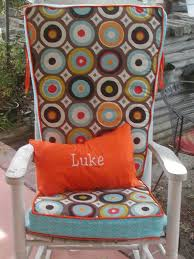 Outdoor Rocking Chair Cushion Sets Rocking Chair Pillow Ideas Home U0026 Interior Design