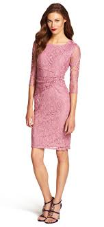 papell lace dress lace overlay sheath dress with sleeves papell