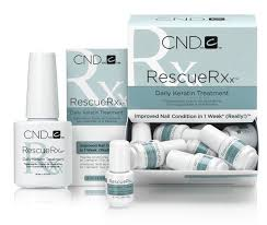 durable service cnd treatments rescue rxx nail polish daily
