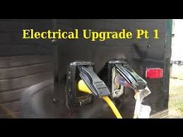 electrical upgrade pt 1 6x10 enclosed trailer conversion