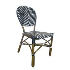 Grey Bistro Chairs Grey U0026 White Cafe Chair Tiab Inc