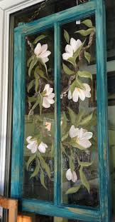 Vintage Windows For Sale by 425 Best Handpainted Windows Screens Images On Pinterest Window