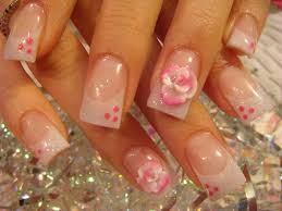 nail art hello kitty nails