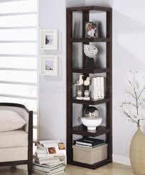 Armchair With Storage Interior Best Corner Bookcase For Inspiring Interior Storage