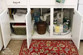 Under The Kitchen Sink Organization by How To Organize Your Cleaners Home Cleaning Product Organization