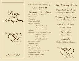 diy wedding program templates wedding ideas wedding program ideas pinterestdiy outstanding diy
