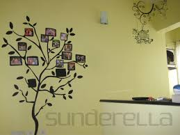 put up your family tree walldesign some family tree wall stickers are designed in such a way that there are special spaces attributed for the pictures
