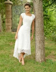 informal wedding dresses casual lace wedding dress wedding corners