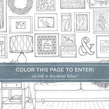 Home Design Books Free Download Hgtv Magazine Coloring Contest U2013 Paige Tate