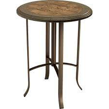 36 round bar height table hudson 36quot round pub table bar height charleston forge throughout