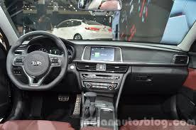 Kia Optima 2015 Interior Kia Optima Gt Europe Dashboard Interior At Iaa 2015 Indian Autos
