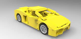 lamborghini lego set lego lamborghini gallardo 3d model cgtrader