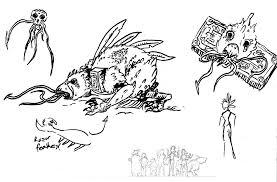 terror bird sketches by lightningdogs on deviantart