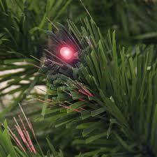 Fibre Optic Slim Christmas Trees - best choice products 7ft pre lit fiber optic artificial christmas