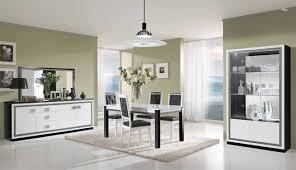 venezia premium home theater room salle à manger complète modena laquée blanc et gris http www